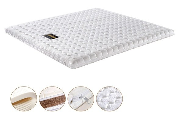 Rayson Mattress-Washable Fabric Design Customizable Highly Coco Mat Foam Palm Fiber Mattress Customi-2