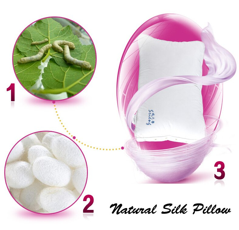 Rayson Mattress-Healthy Sleep Health Care Effect Natural Silk Down Pillow Hot Sale single mattress s-4