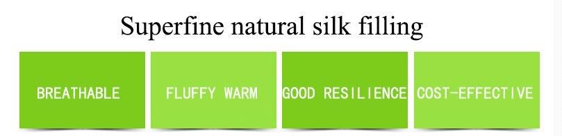 Rayson Mattress-Healthy Sleep Health Care Effect Natural Silk Down Pillow Hot Sale single mattress s-5