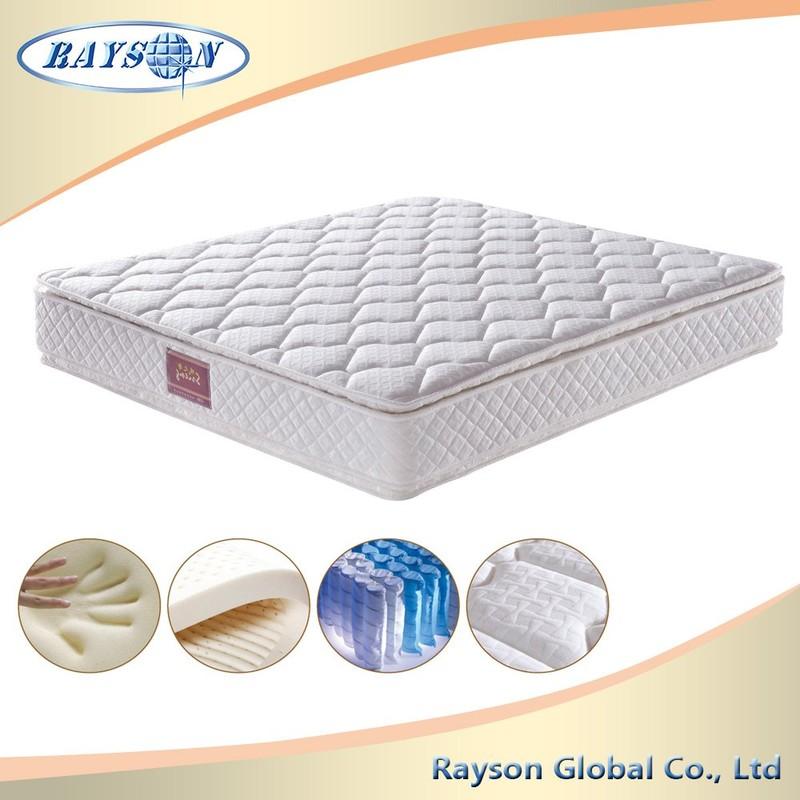 Most Popular Sleep Comfort King Latex Mattress For Hotel Bedroom