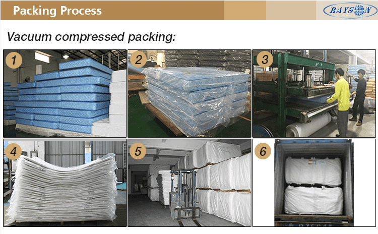 Rayson Mattress-New Products 2016 Hotel Usage Vacuum Compressed Royal Bed Mattress Wide-used mattres-10