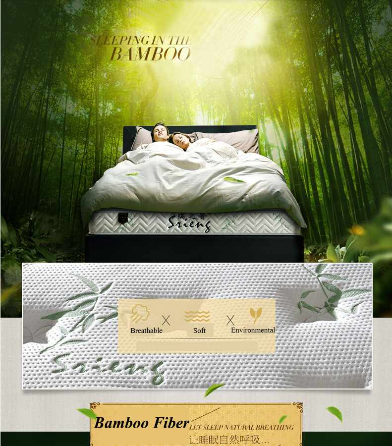 Rayson Mattress-Orthopedic Bamboo Mattress Protector For Hotel Bedroom Brand New discount mattress s-3