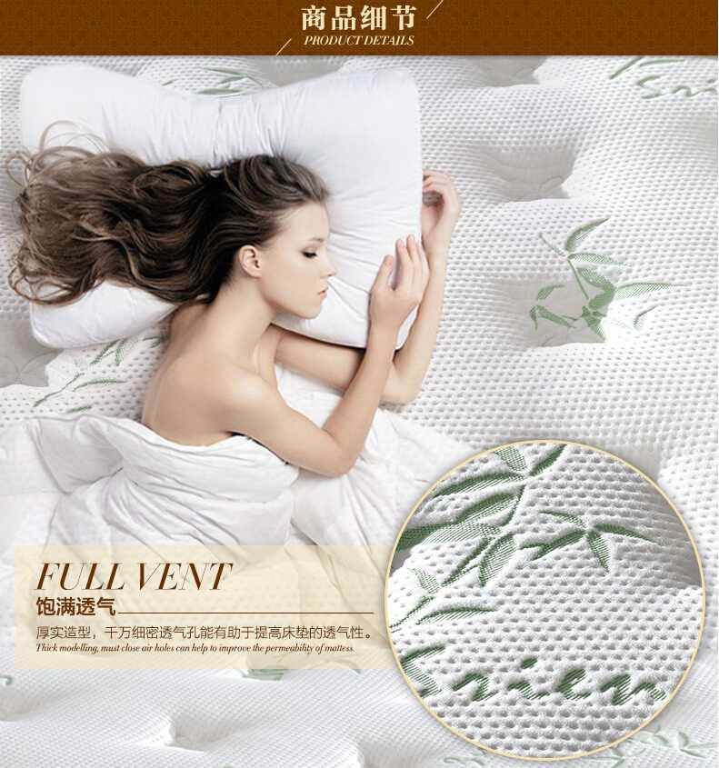 Rayson Mattress-Orthopedic Bamboo Mattress Protector For Hotel Bedroom Brand New discount mattress s-5