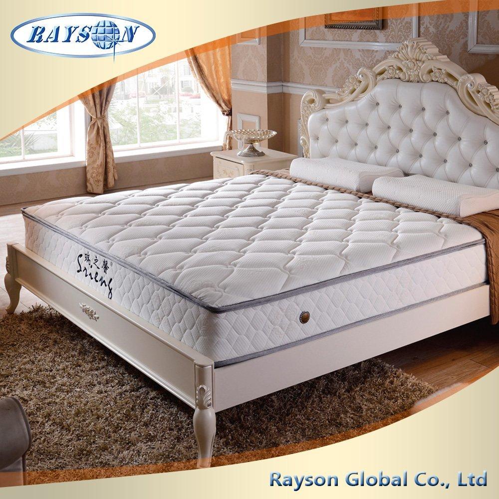 Мягкая кровать моющаяся ткань импорта латекса Матрас Одноместный