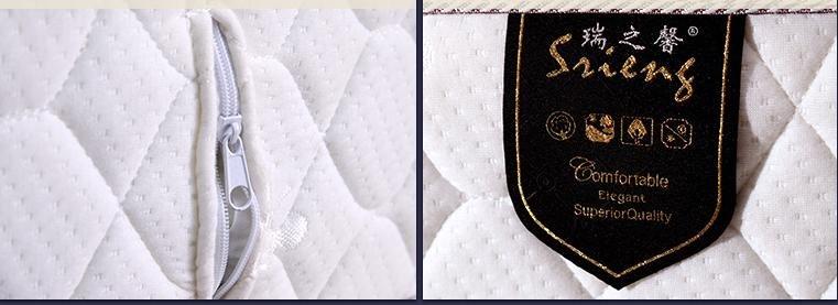 Rayson Mattress-Soft Bed Washable Fabric Import Latex Single Mattress Buy discount mattress sets Who-3