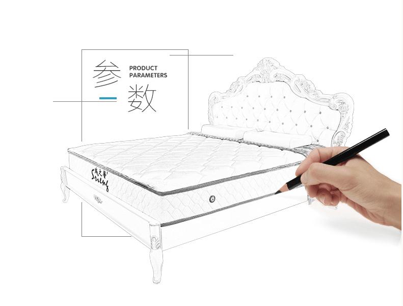 Rayson Mattress-Soft Bed Washable Fabric Import Latex Single Mattress Buy discount mattress sets Who-4