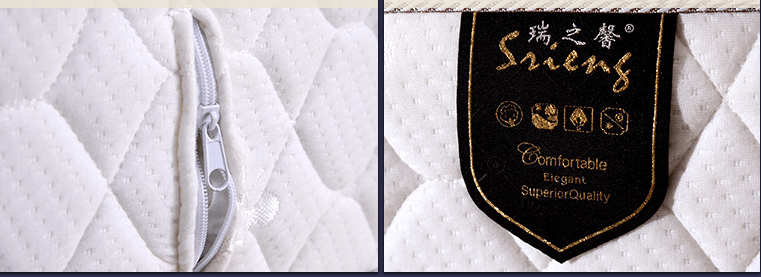 Rayson Mattress-Bed Mattress Types Elegant Latex Anti-Slip Mattress Pad China cheap twin mattress Bu-4