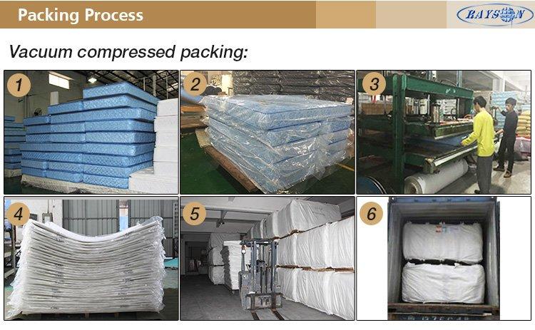 Rayson Mattress-Bed Mattress Types Elegant Latex Anti-Slip Mattress Pad China cheap twin mattress Bu-9