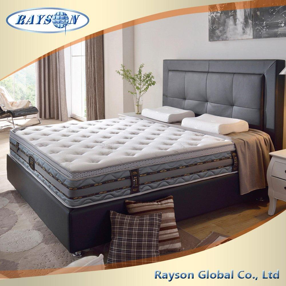 Highly 27 Cm Foam Pocket Spring Hotel King Size Orthopedic Mattress