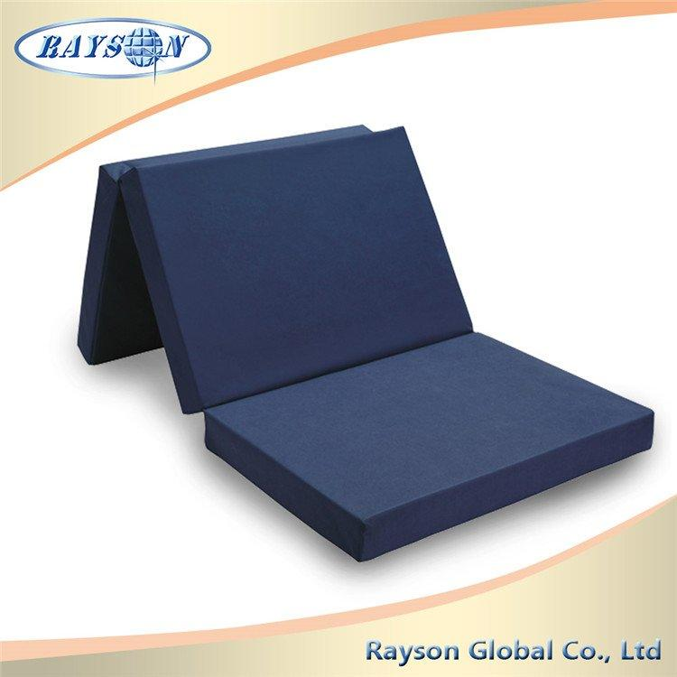 Most Popular Cheap folding Used Bed Travel Foam Mattress