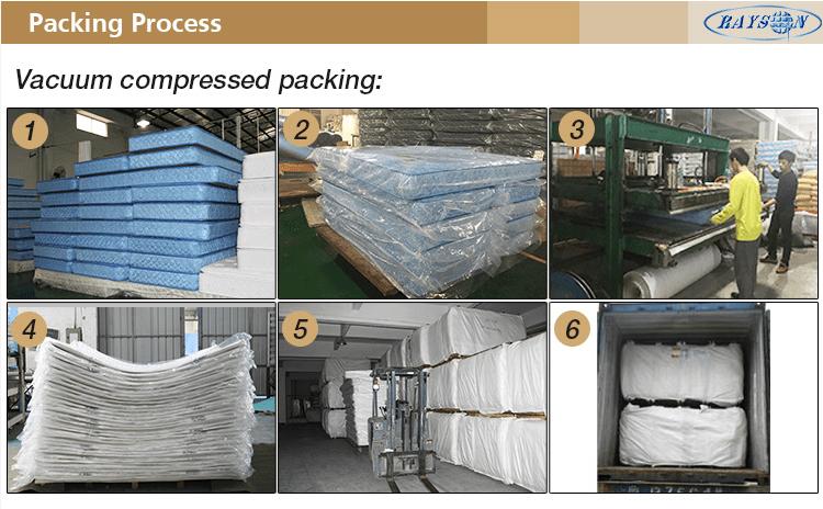 Rayson Mattress-Most Popular Cheap folding Used Bed Travel Foam Mattress Efficient cheap double matt-7
