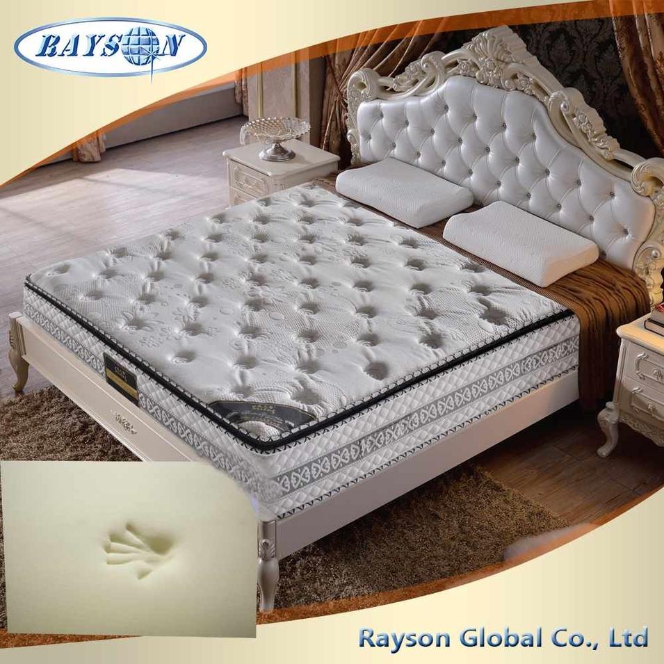 Bedroom Furniture Pillow Top Mattress Factory Memory Foam Mattress