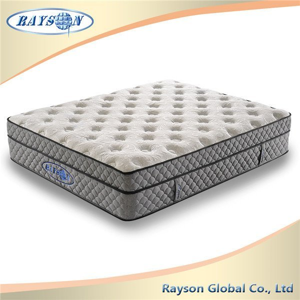 14 Inch Height Home Spring Mattress French Bedroom Furniture