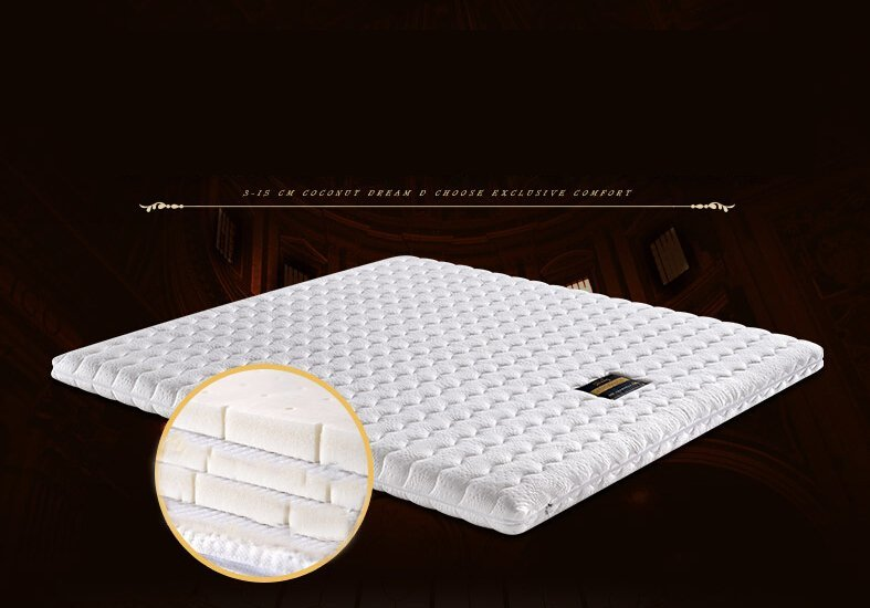 Double Bed Animal Quilted Mattress Cover With Zipper