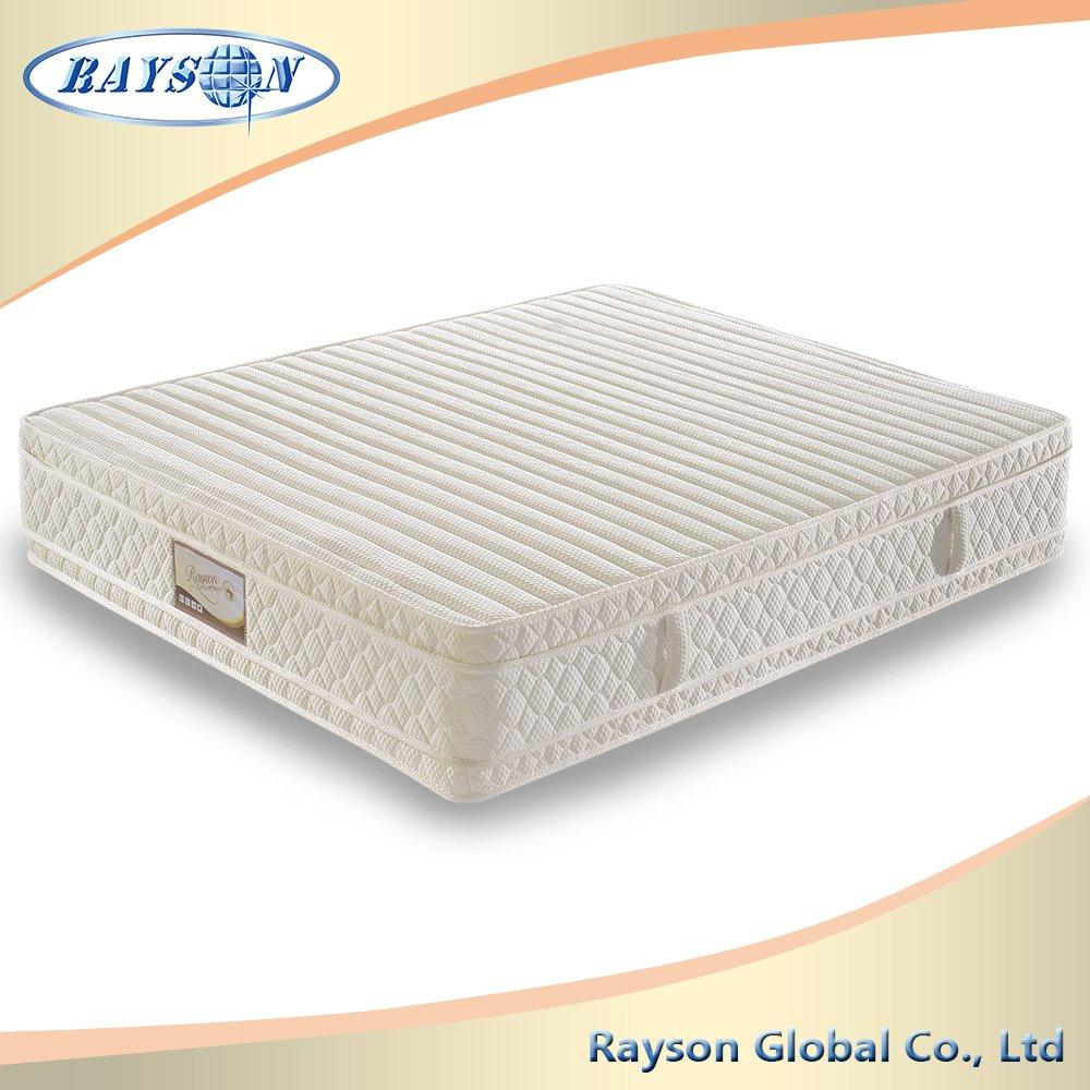 Egyptian Bedroom Furniture Bonnell Spring Mattress Double Side With Latex