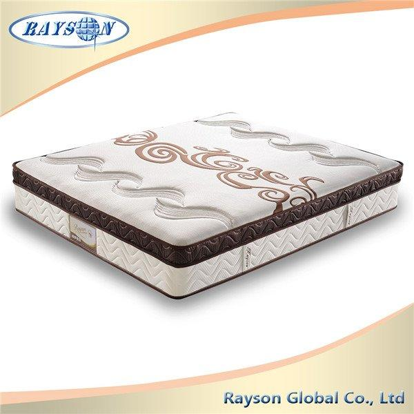 Convoluted Foam Euro Top Mattress indian bedroom furniture designs