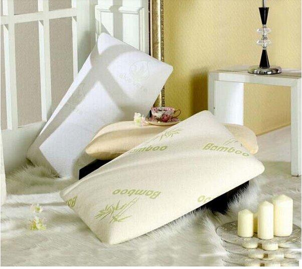Furniture bedroom Cervical Support Neck thai silk pillow case