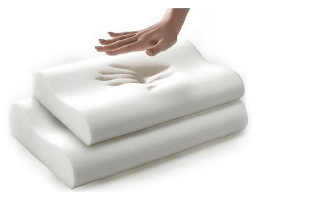 Rayson Mattress-Wave Shape Anti-Bacteria Travel Memory Foam Neck Pillow Fashion Design Rayson Mattre-2