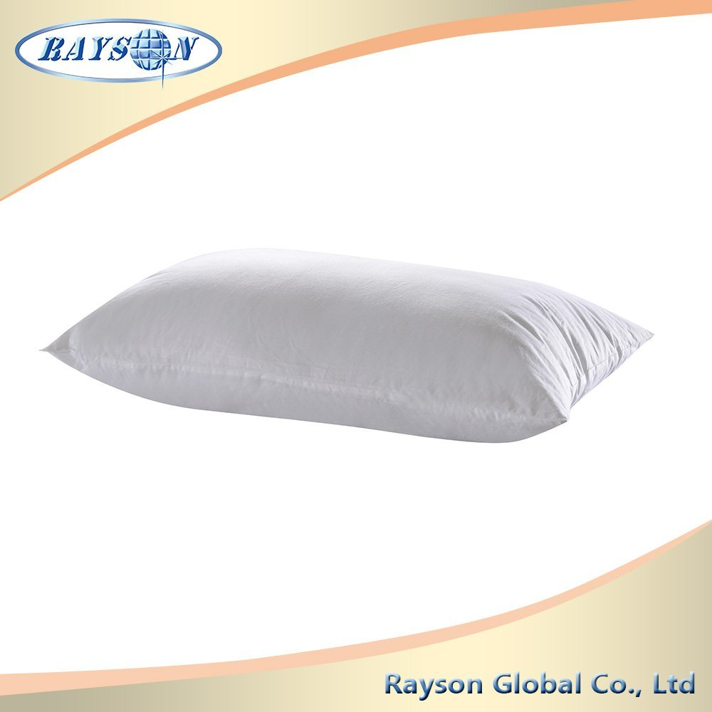 Bedding Neck Support Siliconized Polyester Fiber Pillow
