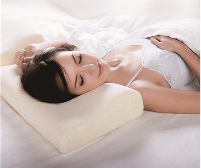 Rayson Mattress-Bedding Neck Support Siliconized Polyester Fiber Pillow Brand New memory foam mattre-5