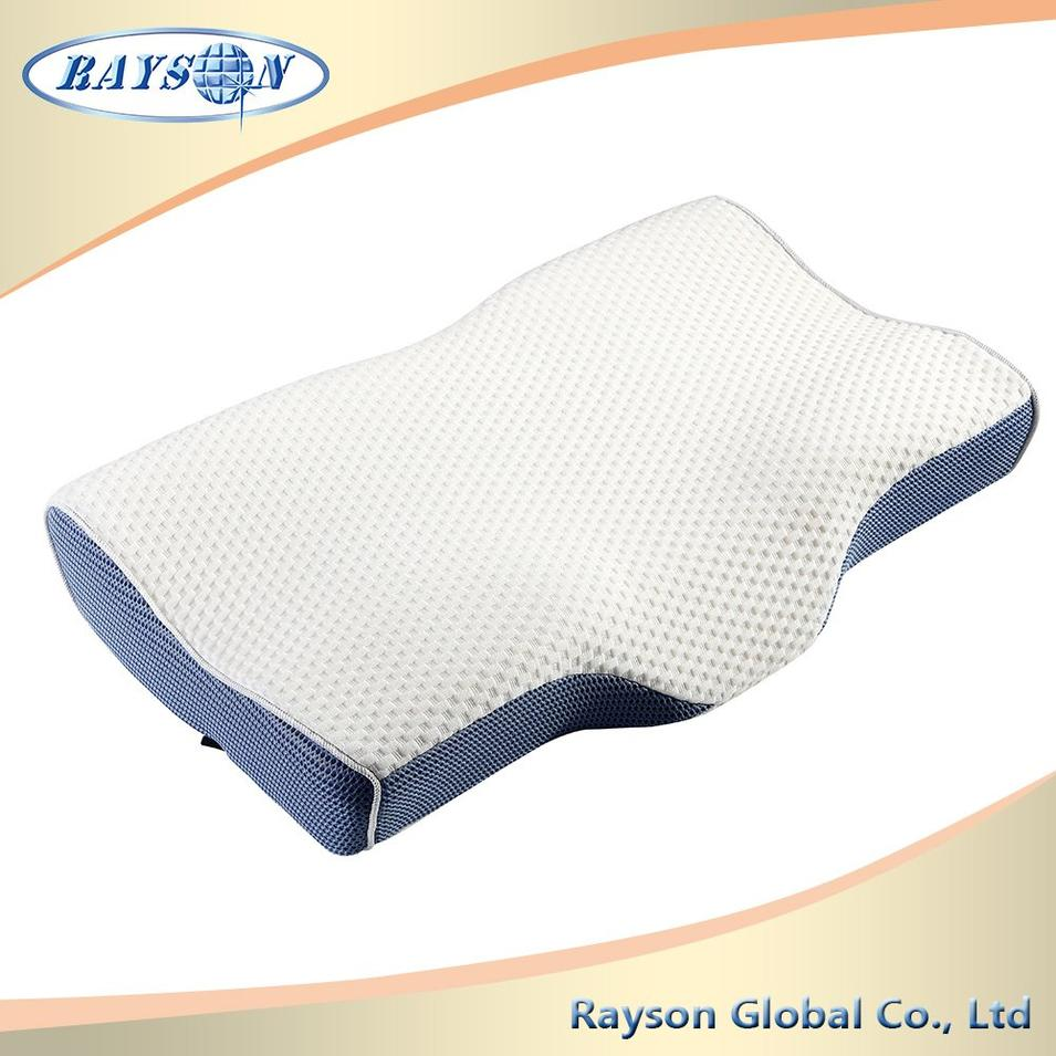 Ventilated Memory Foam Pillow Urethane Foam Pillow Chip Foam Pillow