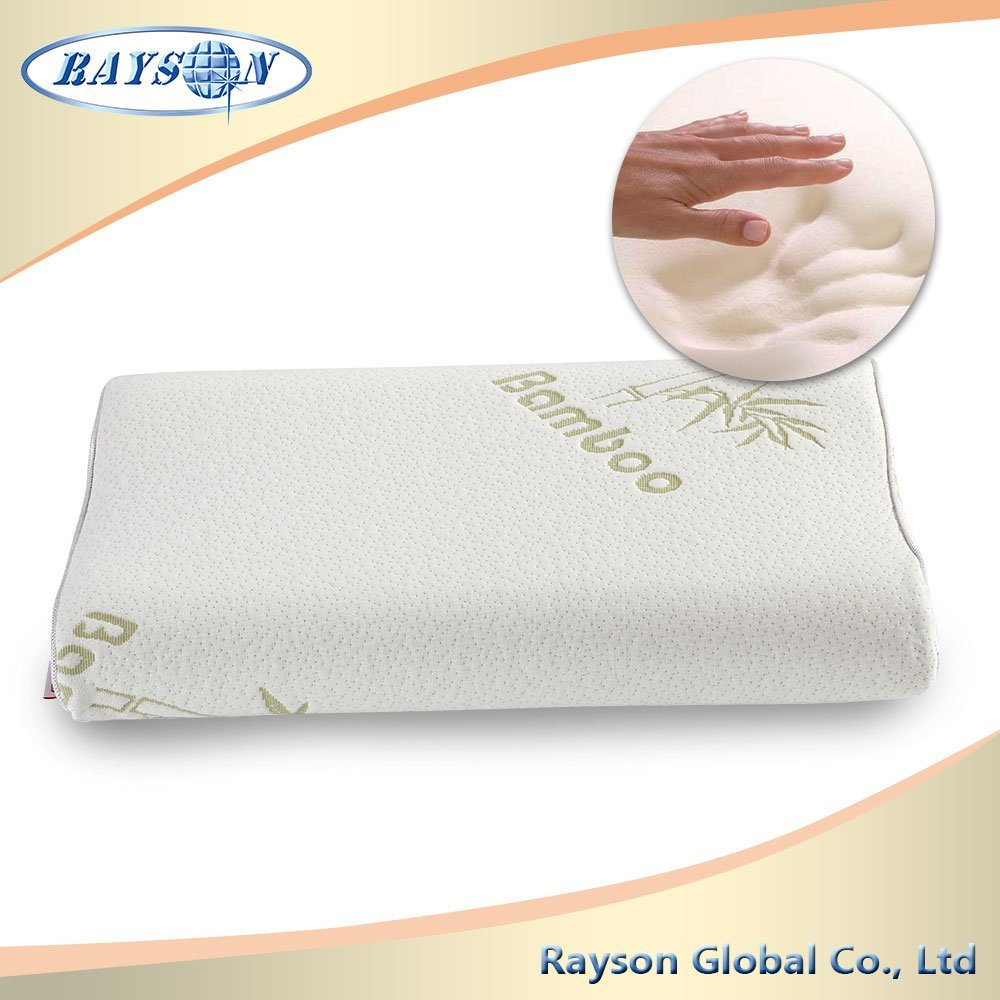 Comfortable Bamboo Memory Foam Pillow For Bedroom