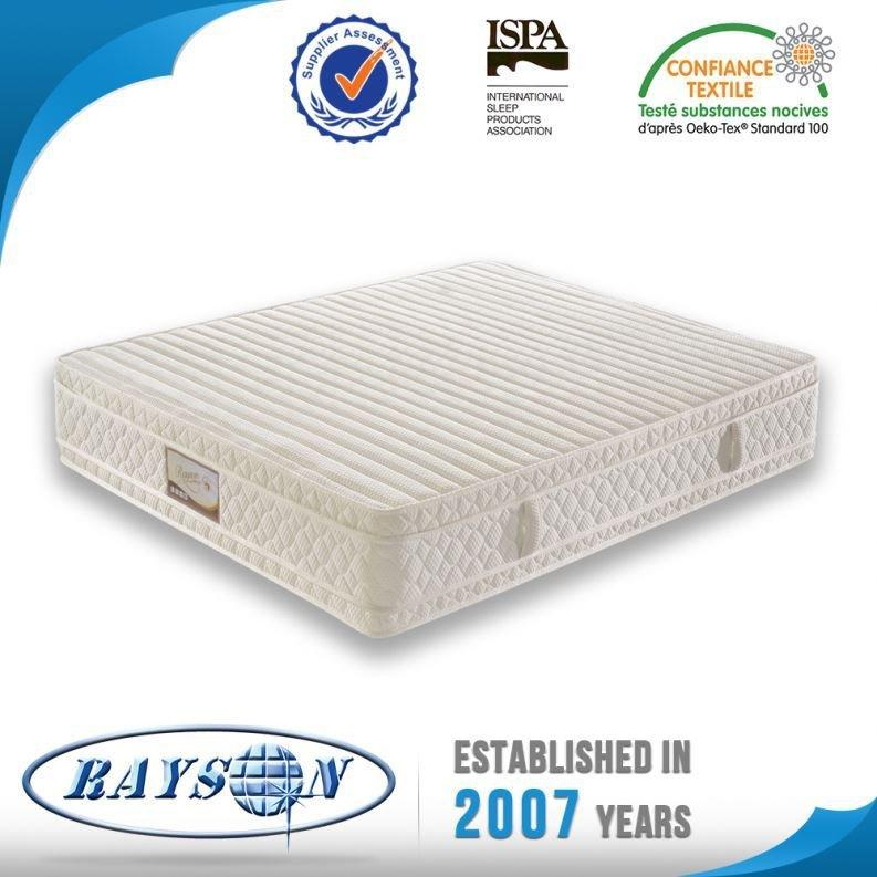 China Manufacturer Hot Sales Hotel Spring King Size Bed Matress