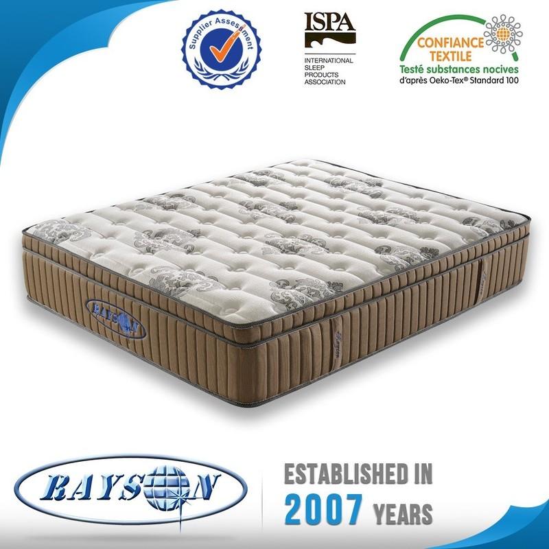 High class Natural latex pocket spring gel memory foam mattress