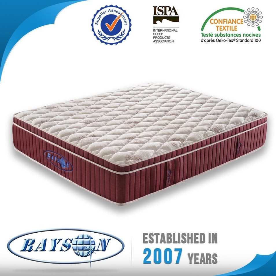 HOT SALES GEL MEMORY FOAM POCKET SPRING  MATTRESS WITH FOAM ENCASED FROM DIRECT MANUFACTURE
