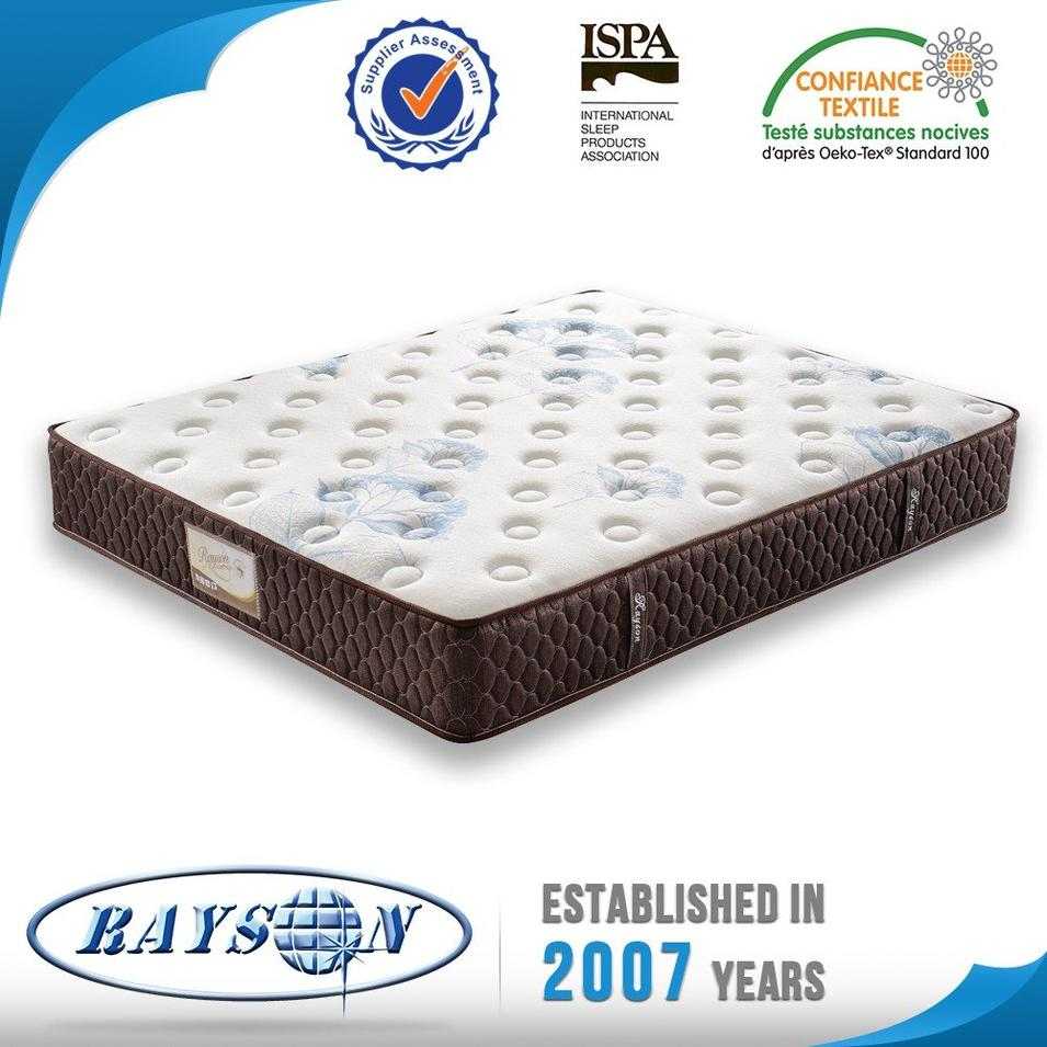 HOT SALES 3 CM MEMORY FOAM FIVE STAR  HOTEL POCKET SPRING MATTRESS