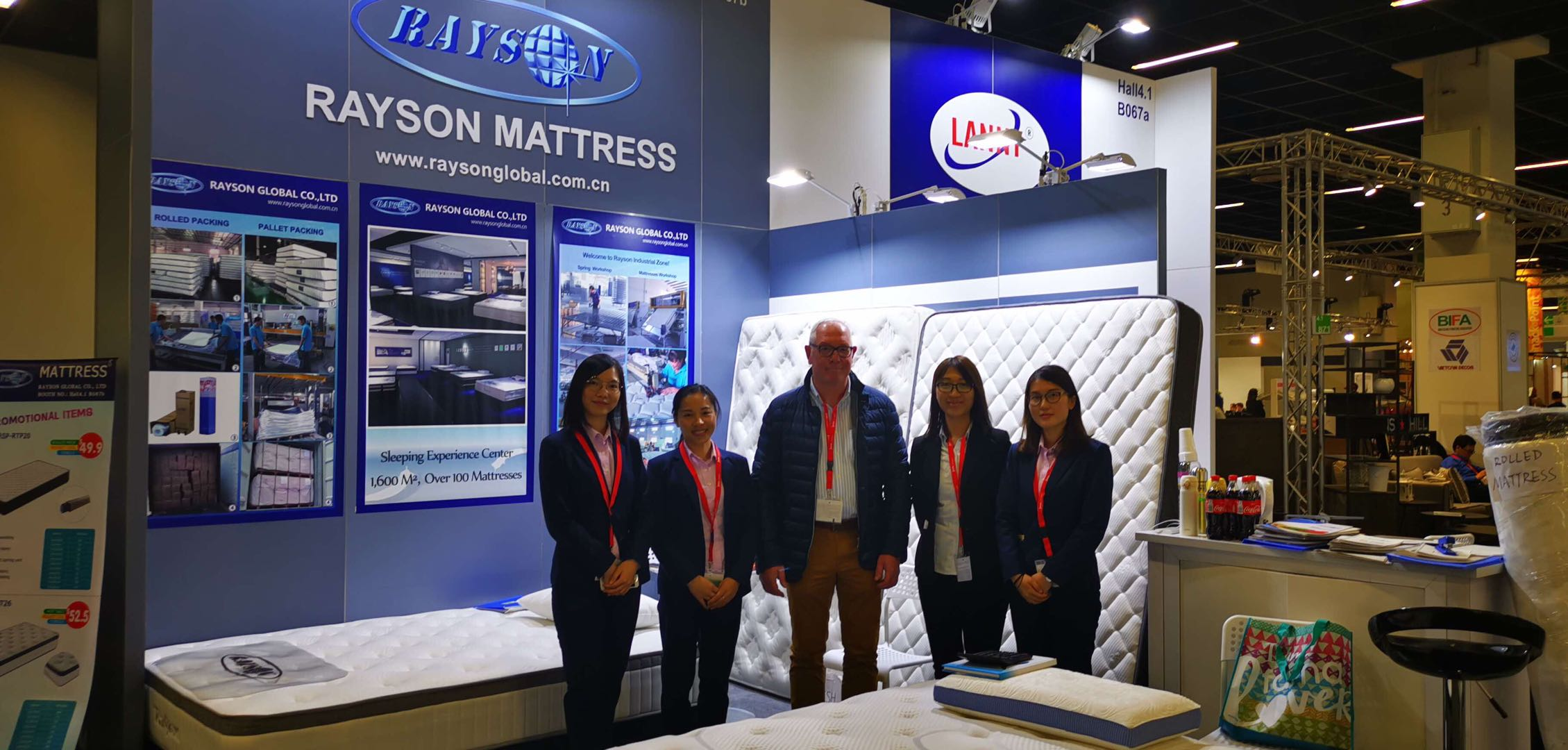 Rayson Mattress-Rayson Mattress Gained A Great Success In Cologne Imm Furniture Show  -2