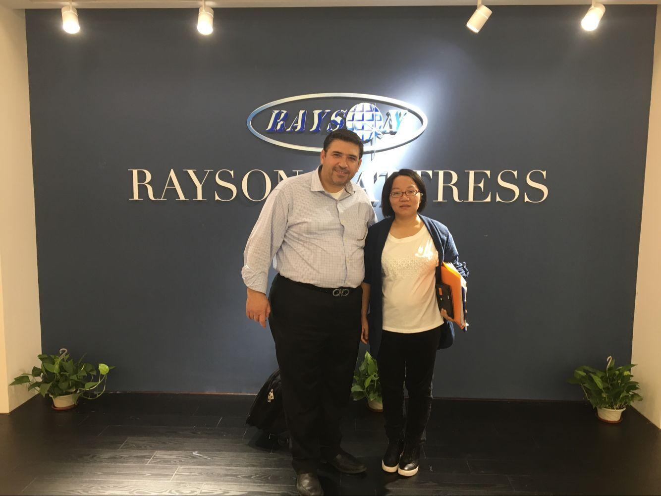 USA Client pay cash in factory buy the mattress