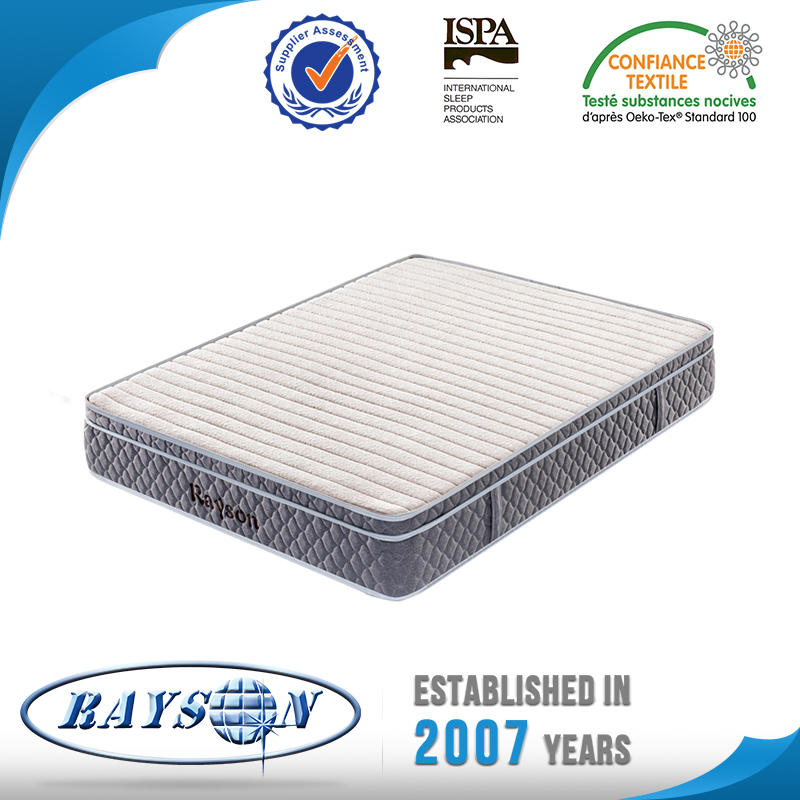 New Rolled Euro Top Pocket Spring Mattress King Single