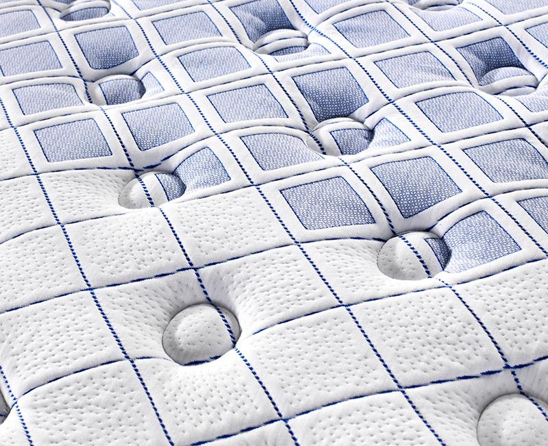 Latex Pillow Top 3 Zones Pocket Spring Mattress