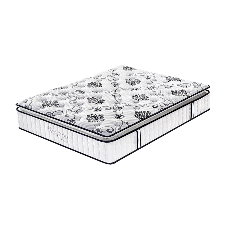 Dun Pillow Top Plush Pocket Spring Mattress