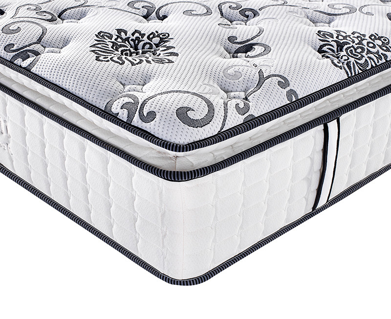 Pillow top spring mattress