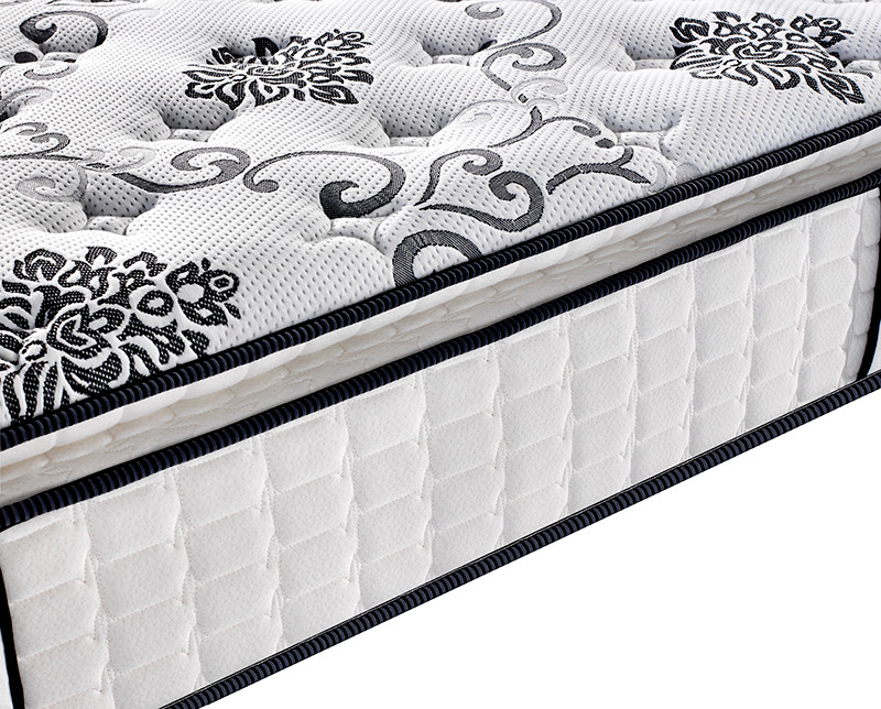 Plush pocket spring mattress