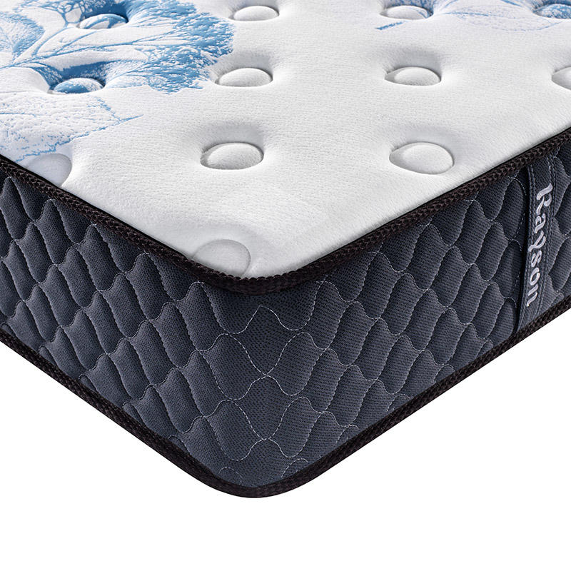 10Inch Plush Memory Foam Spring Hybrid Mattress