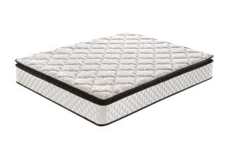 five zone pillow top memory foam pocket spring mattress