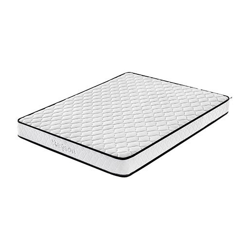 White Queen Size 6in Roll up Bonnell Spring Mattress In A Box for Africa