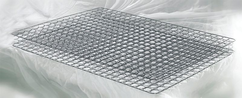 Bonnell spring mattress felt padding production
