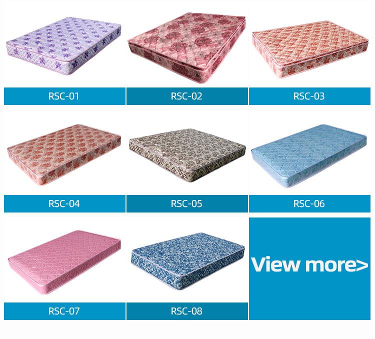 video-China manufacturer tricot fabric bonnell spring mattress-Rayson Mattress-img