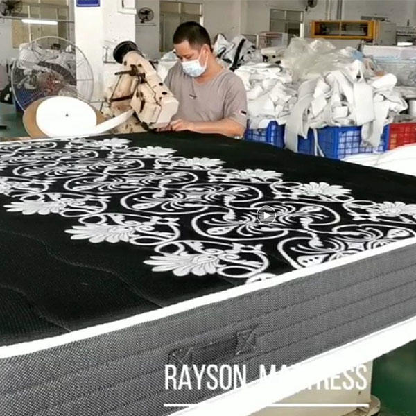 MEMORY FOAM POCKET SPRING MATTRESS PRODUCTION PROCESS