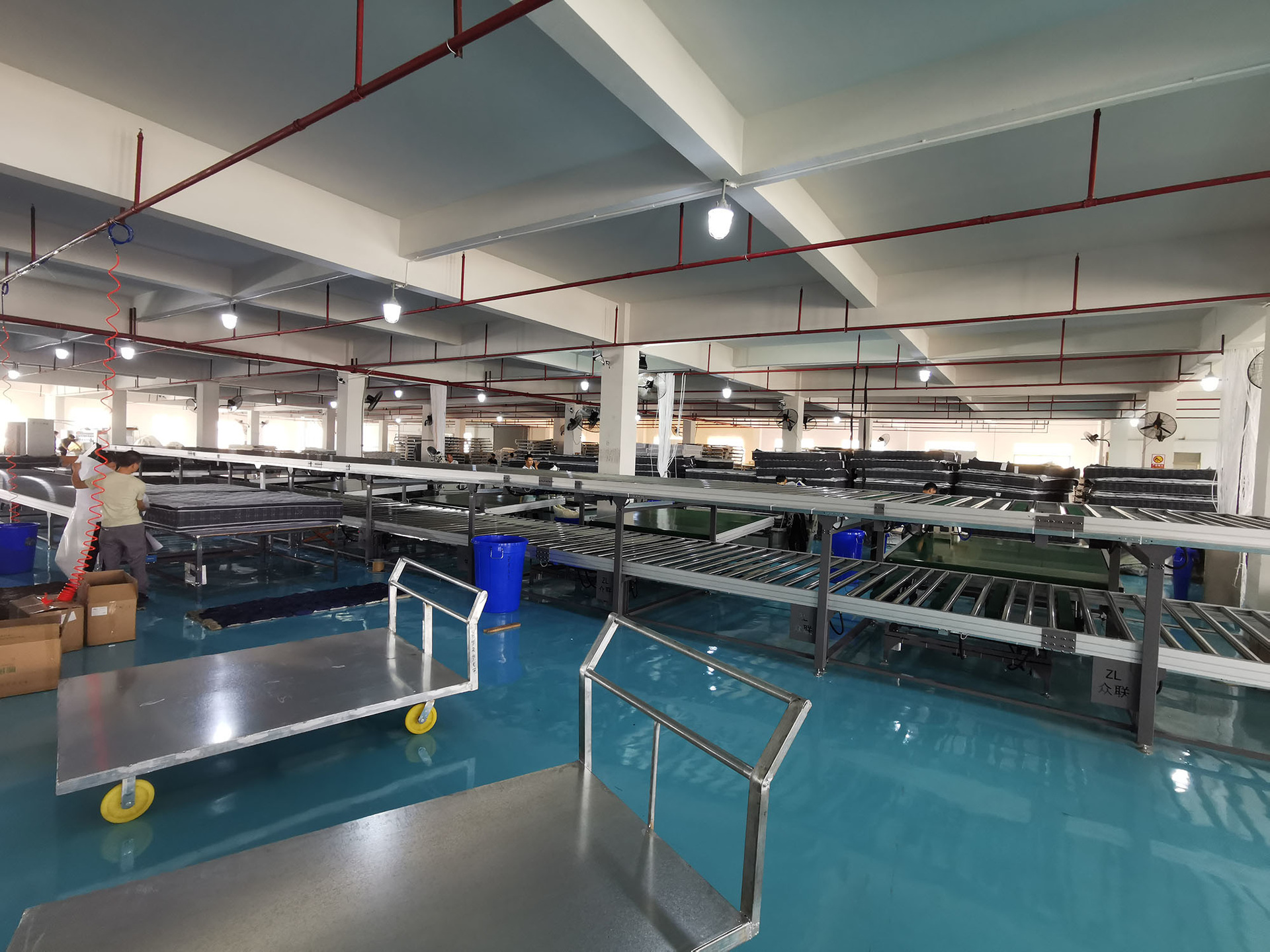 RAYSON SPRING BED MATTRESS PRODUCTION