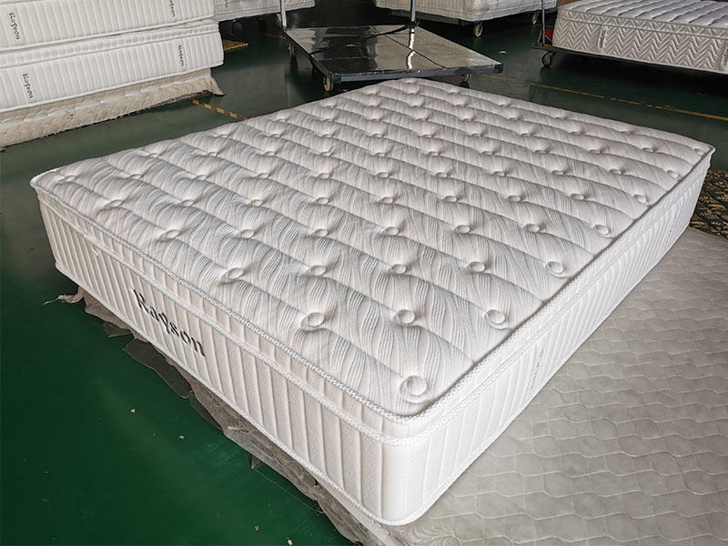 WHITE HOTEL MEMORY FOAM BED MATTRESS