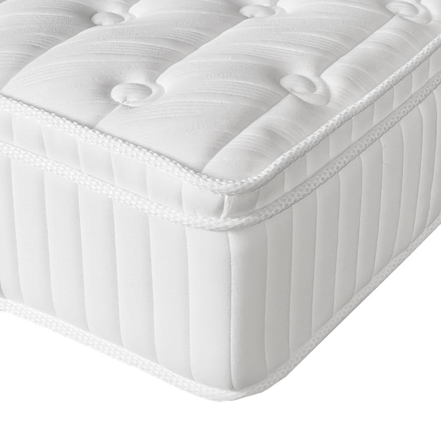 12 inches King size white Latex memory foam pocket spring mattress
