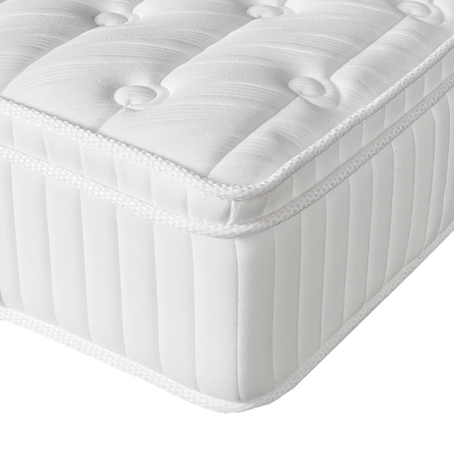 12 inches King size white Latex memory foam pocket spring mattress