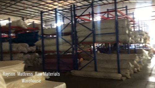 Popular and hot sale bed mattress warehouse