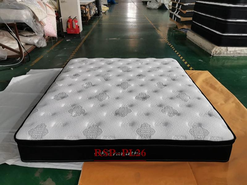 RAYSON new style pocket spring euro top bed mattress wholesale
