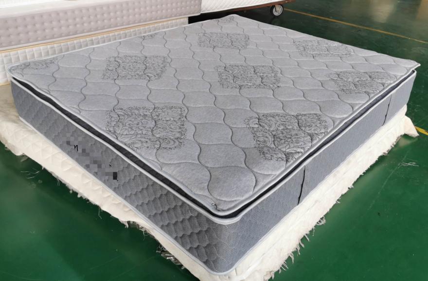 Rayson Mattress 11 inch pillow top pocket spring mattress wholesale